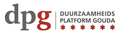 Logo dpg duurzaamheids platform gouda