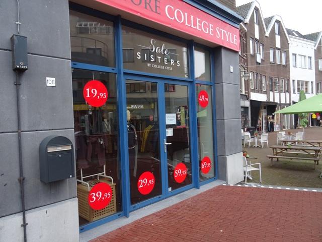 Doorstart en heropening winkels College Style