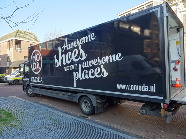 Schoenenketen Omoda stapt over naar sameday delivery