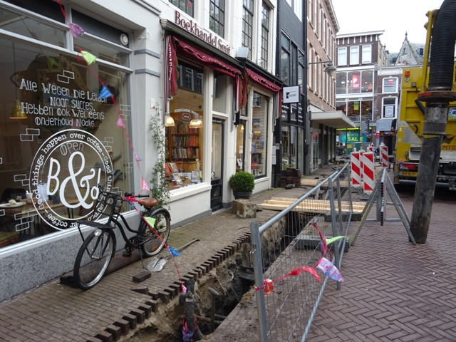 Werkzaamheden aan Korte en Lange Tiendeweg in Goudse binnnstad