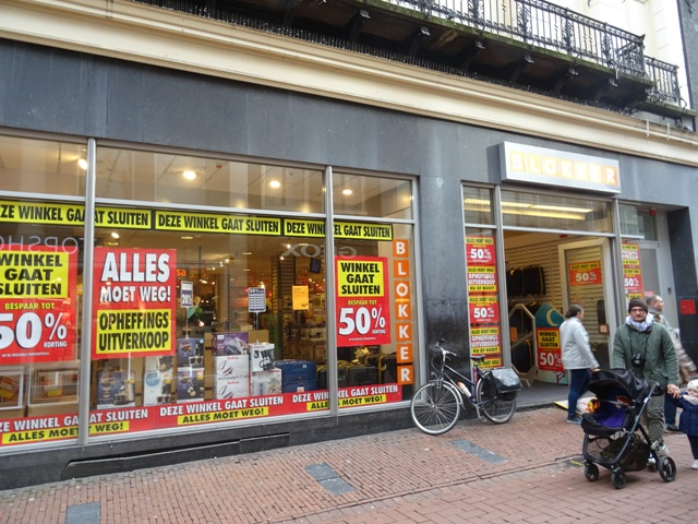 Blokker sluit distributiecentrum in Gouda
