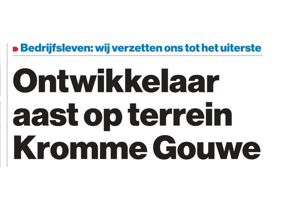 AD- artikel: Wonen op Kromme Gouwe