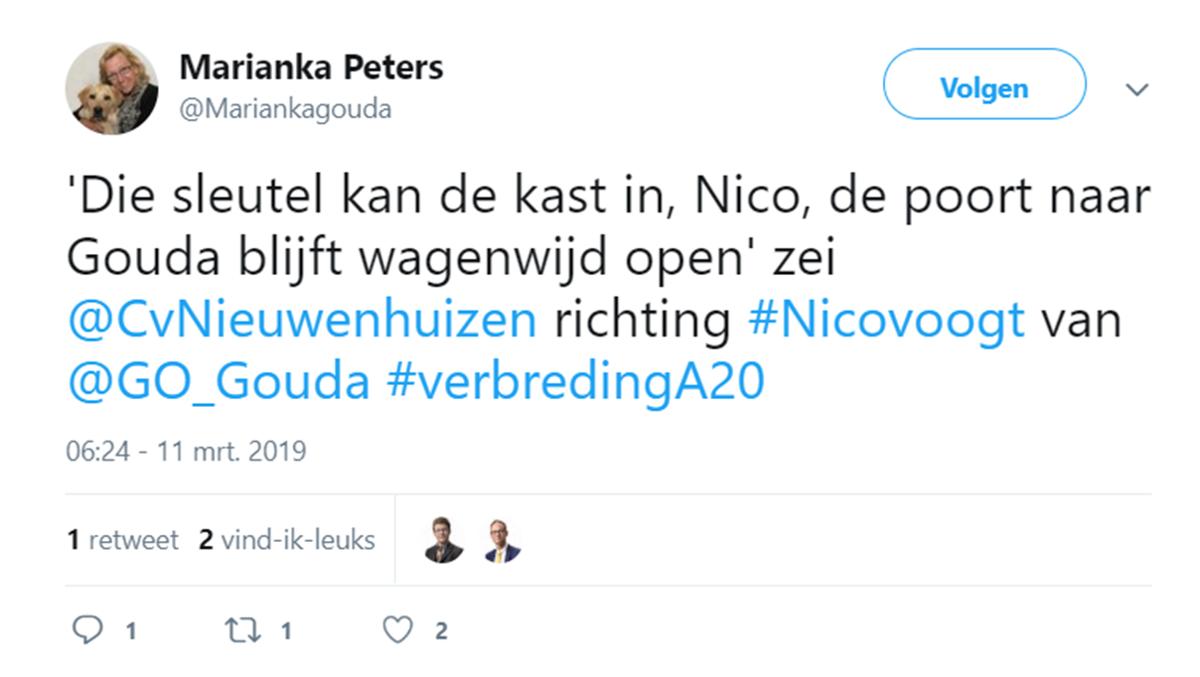 Lobby Gouda Onderneemt! en Midden-Holland Onderneemt boekt succes !