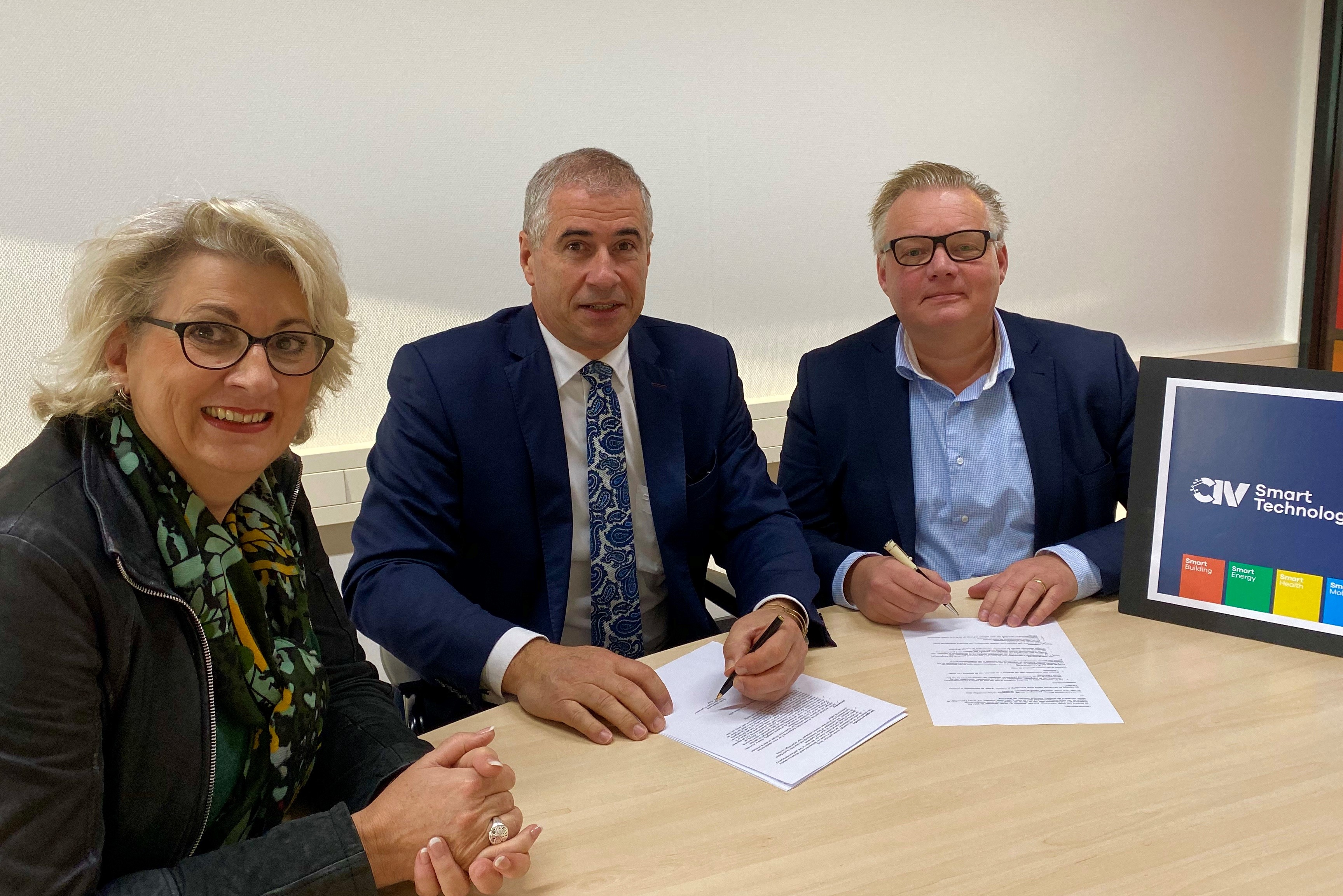 Gouda Onderneemt tekent samenwerkingsovereenkomst CIV Smart Technology