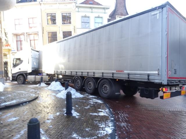 Aanpak zwaar verkeer binnenstad Gouda
