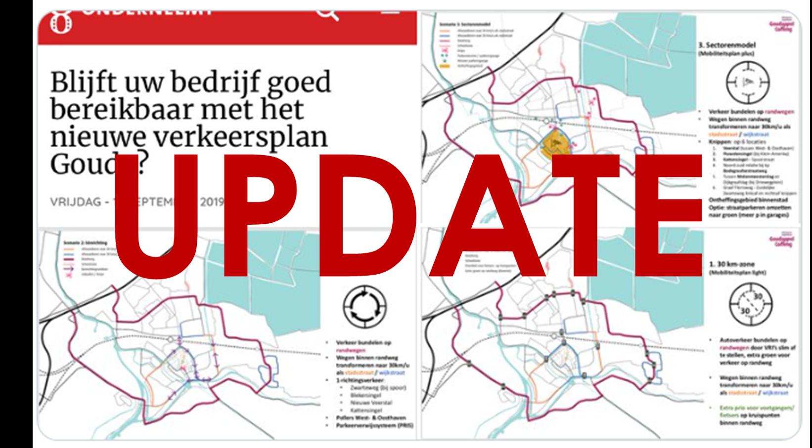 Gemeente Gouda publiceert het Verkeers-Circulatie Plan (VCP)
