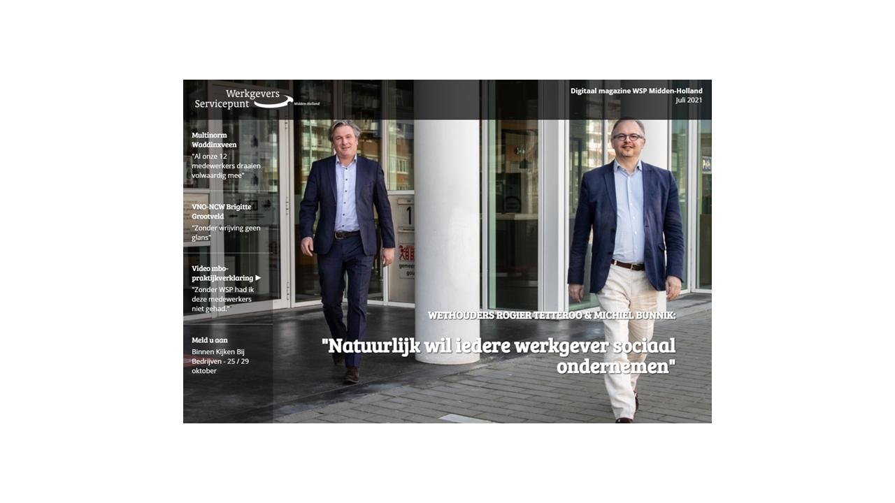 Magazine werkgevers servicepunt Midden-Holland