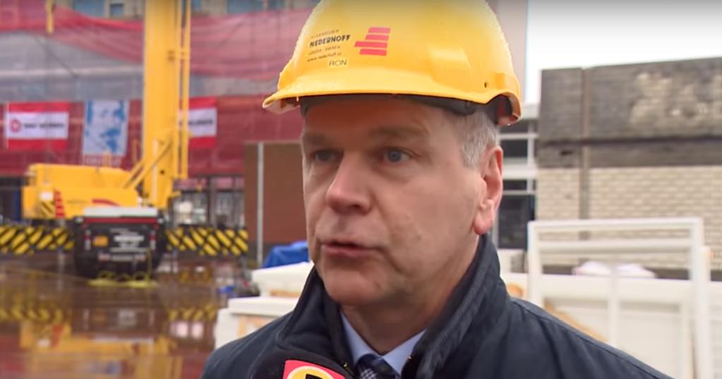 Nederhoff heeft wereldprimeur: de eerste elektrische hijskraan van 30 meter hoog