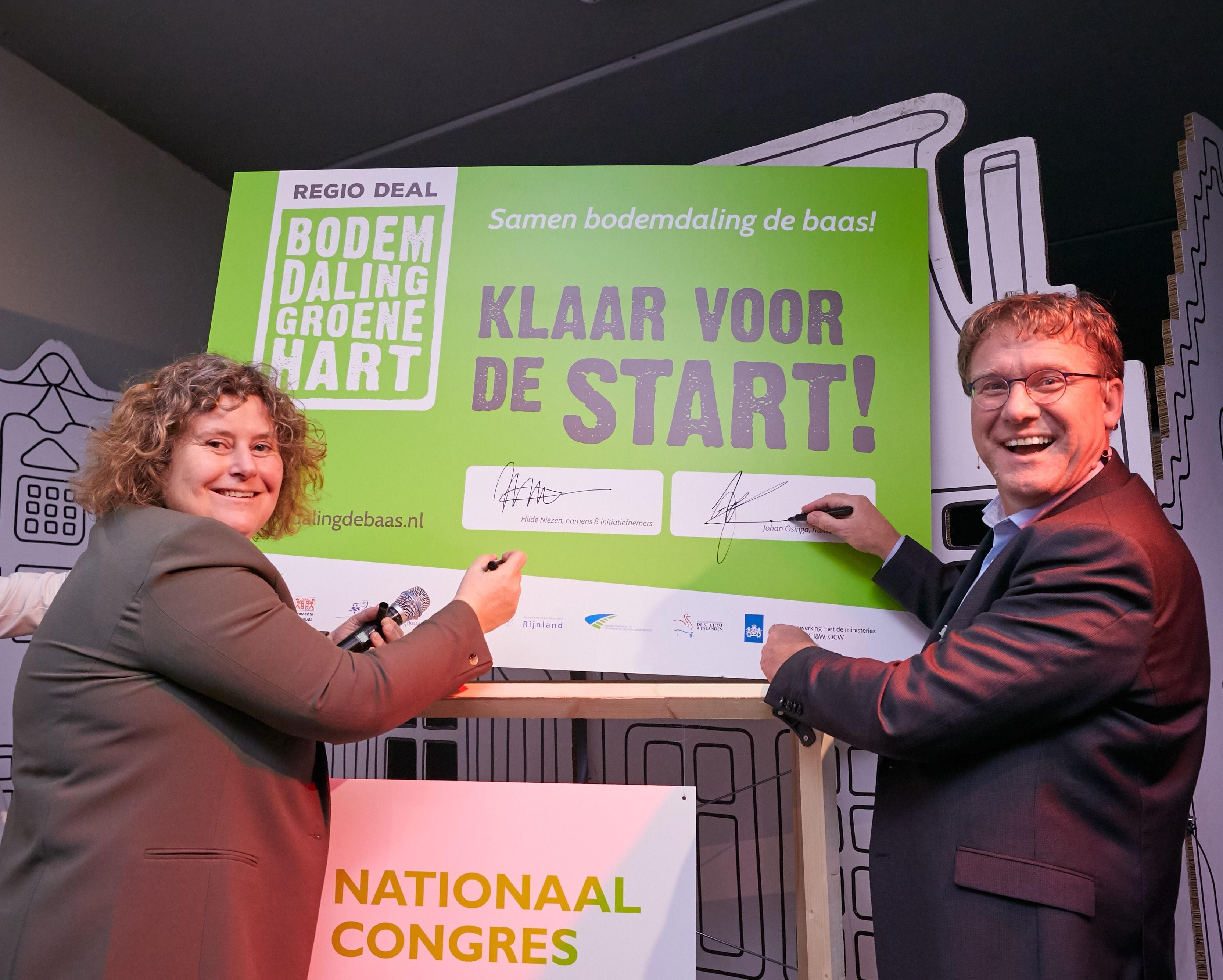 Regio Deal bodemdaling officieel van start!