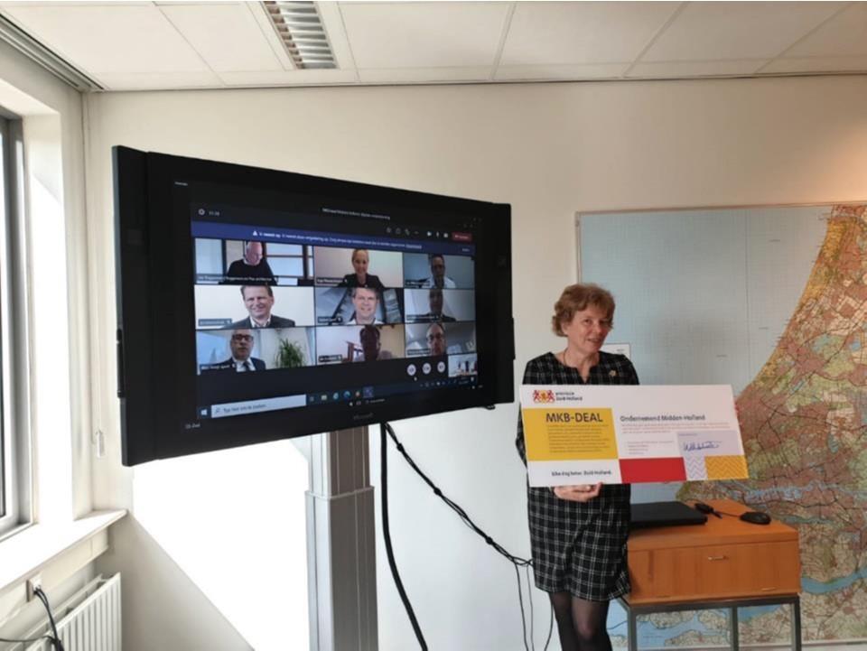 Succes door regionale samenwerking: Steun voor het regionale MKB via MKB-deals Zuid-Holland