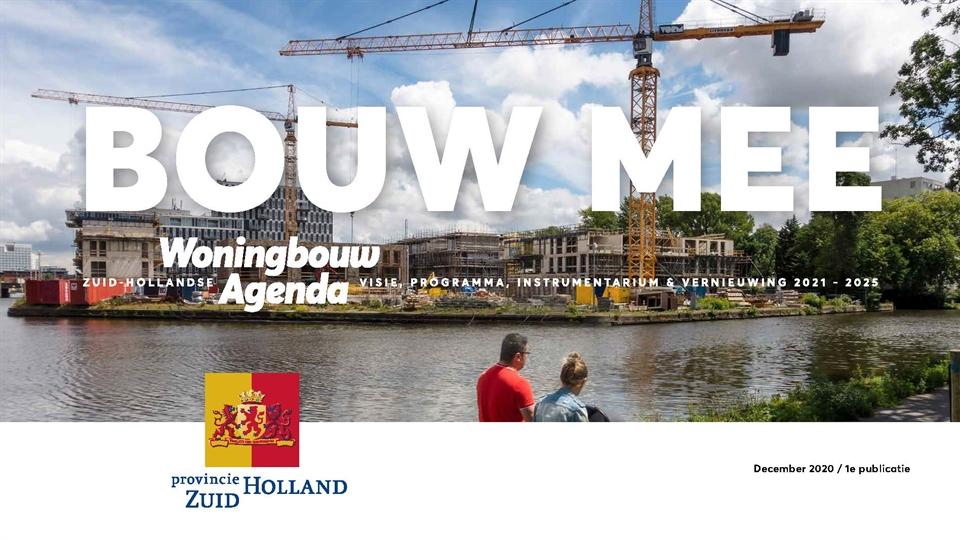 Zuid-Holland zet versnelling woningbouw in